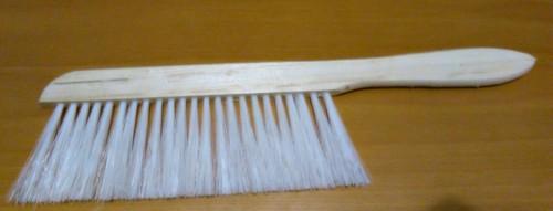 Escova Sacudir Abelhas Branca - Pequena