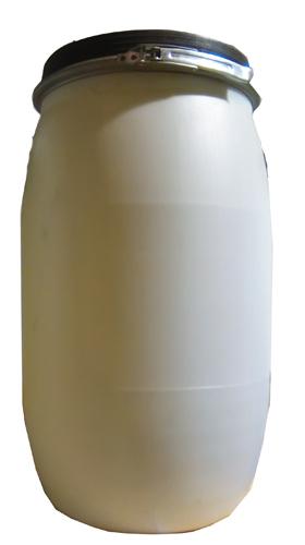 Bidão Plástico 125lt c/ torneira