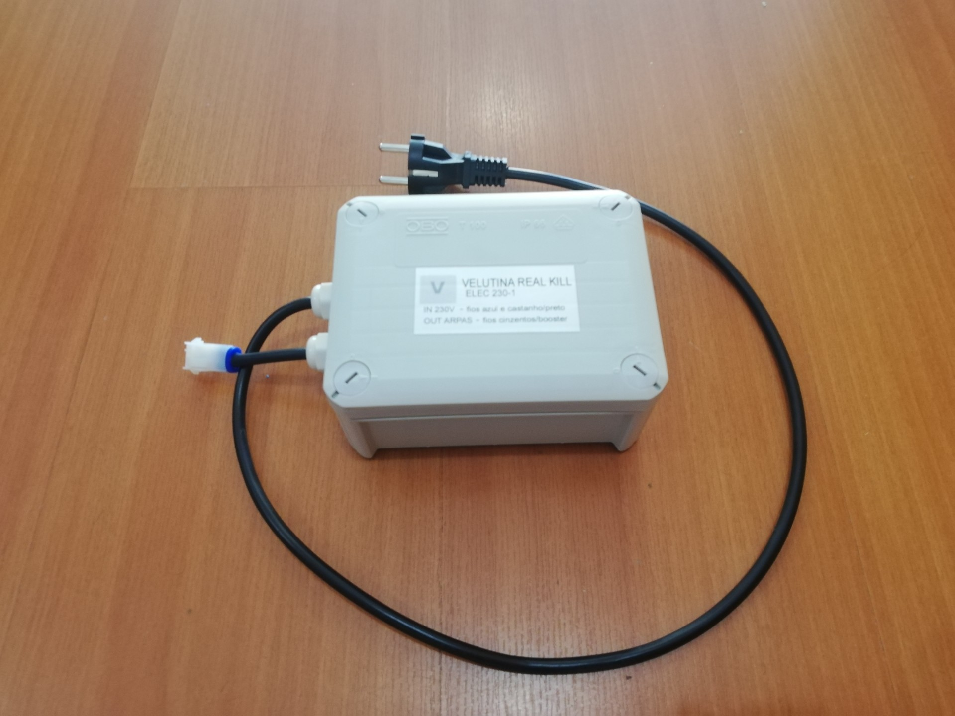 Kit Electrónico Velutina 230VAC (alimentação rede eléctrica)