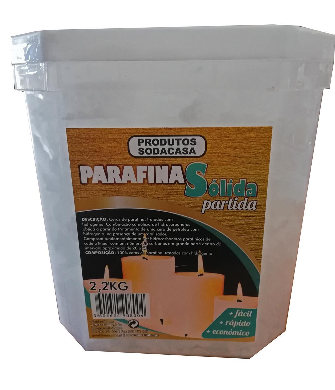 Parafina Sólida 2.2kg