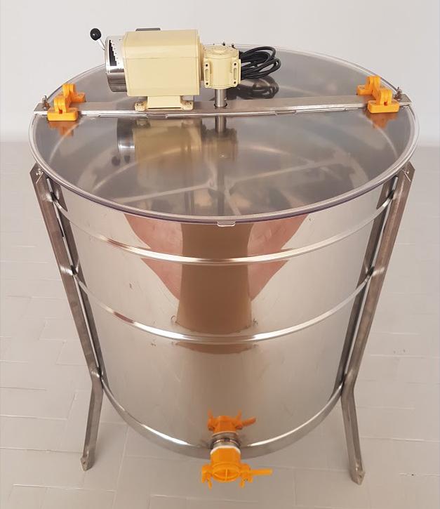 Extractor Inox Eléctrico Radial 16 1/2 quadros