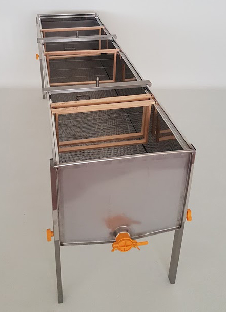Tina desopercular Aço Inox com 2000x510x395mm