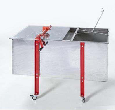 Combinado Inox Extractor + Tina Manual 18 1/2 quadros
