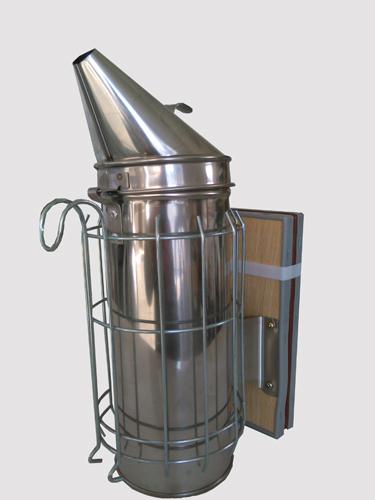 Fumigador Aço Zincado Pequeno 8cm c/ Protecção