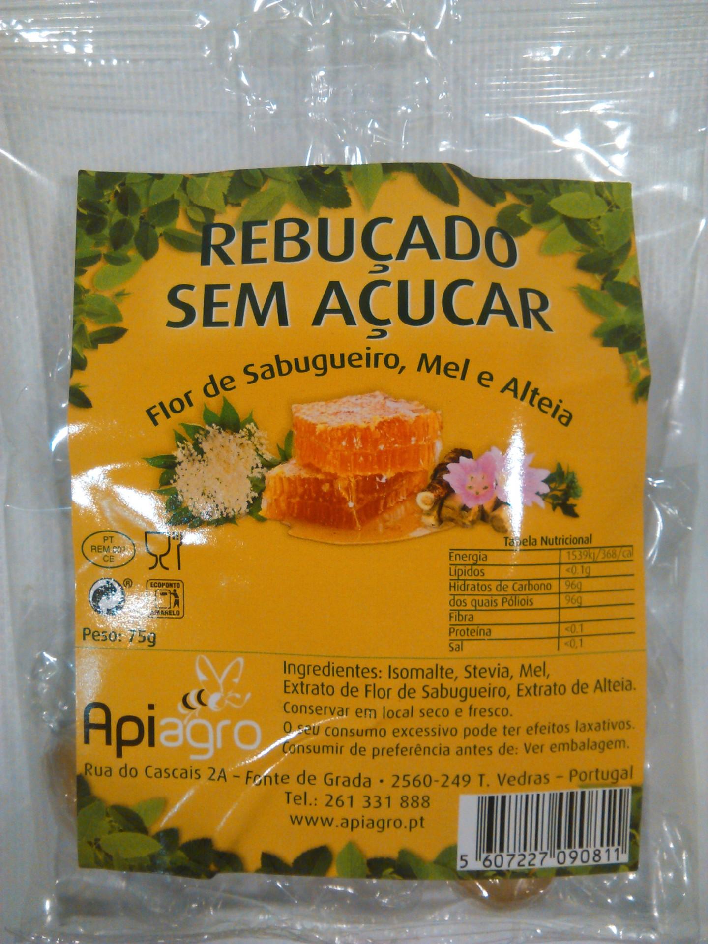 Rebuçados s/ Açucar de Flor Sabugueiro, Mel e Alteia