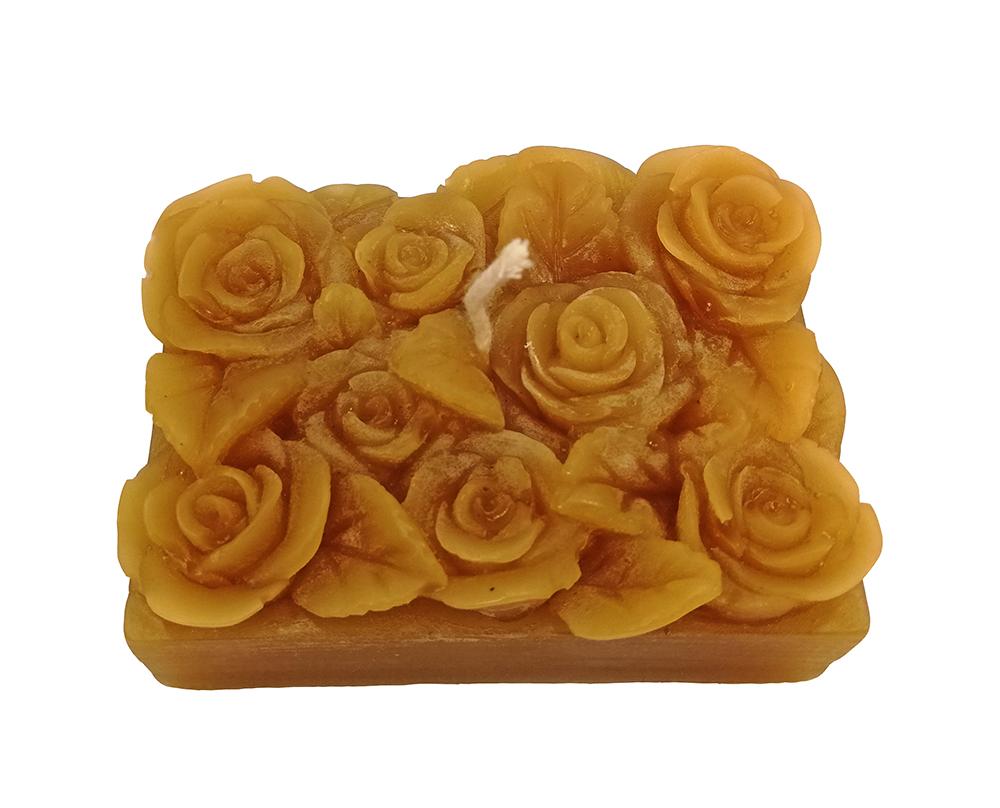 Vela Modelo Canteiro de Flores