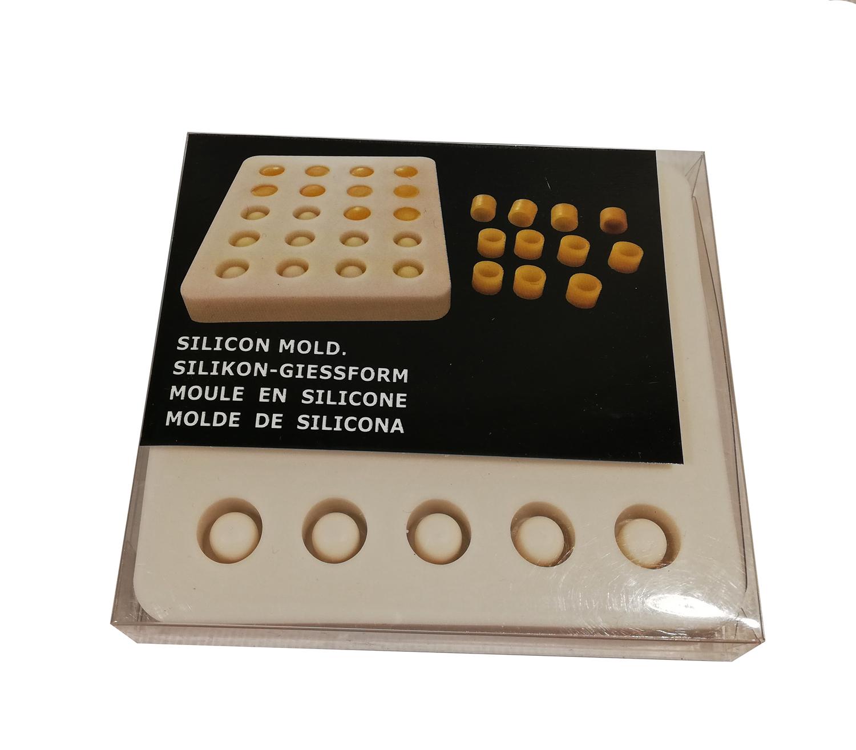 Molde Silicone para cupulas cera natural
