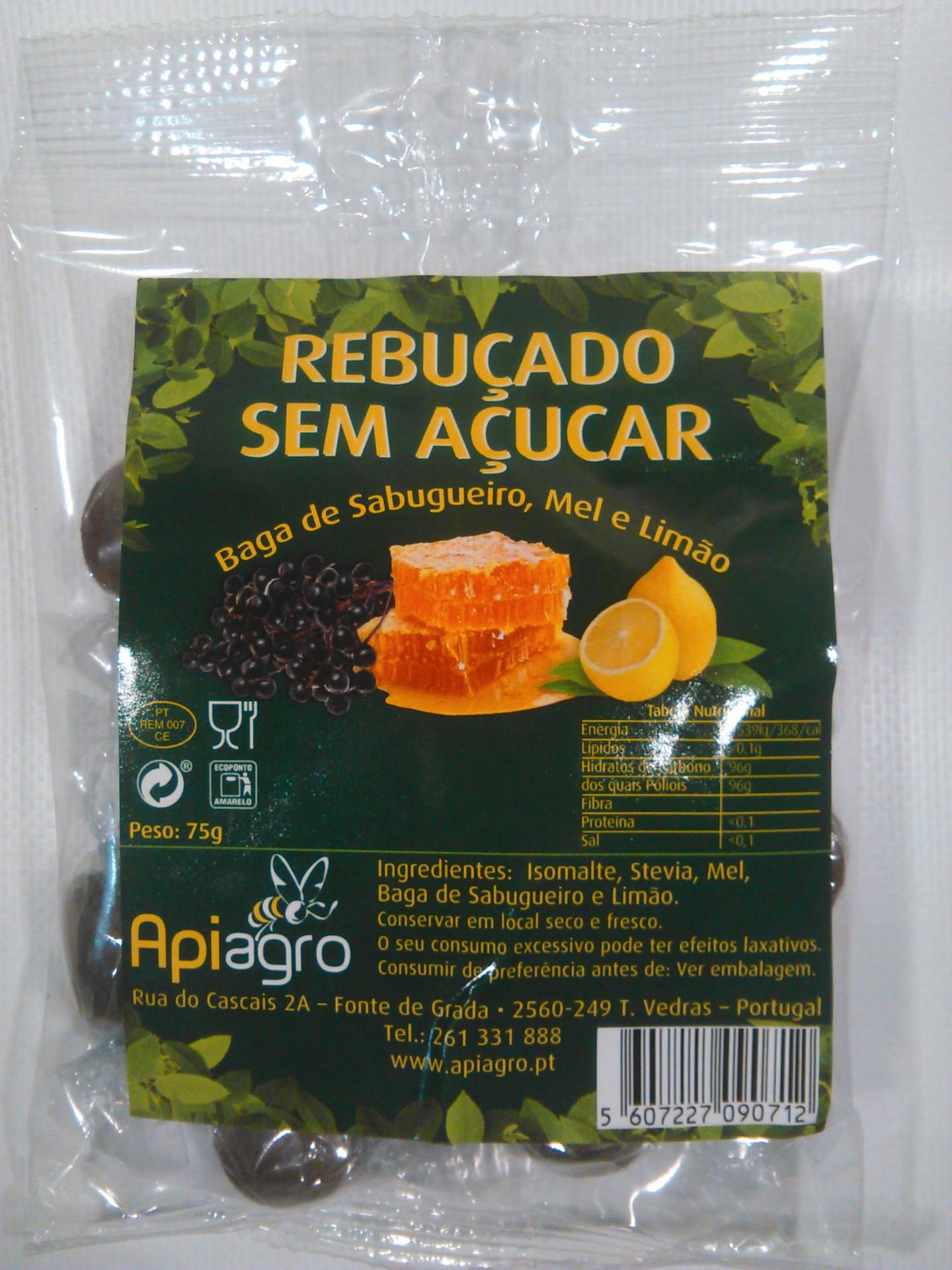 Rebuçados s/ Açucar de Baga Sabugueiro, Mel e Limão