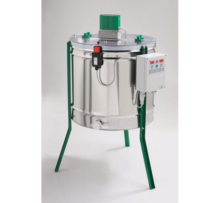 Extractor Inox Eléctrico Radial 21 quadros c/ Temporizador Digital