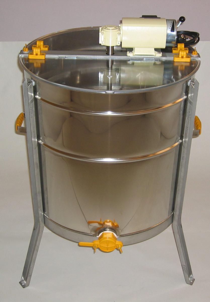 Extractor Inox Eléctrico Tangencial 4/8 quadros