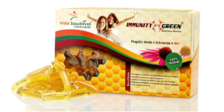 Immunity Green - 60 Uni