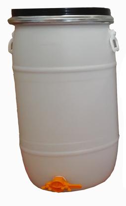 Bidão Plástico 70lt c/ torneira