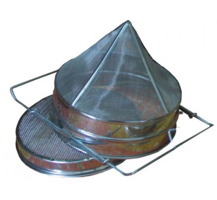 Filtro Cônico Duplo Extensível Inox