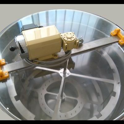 Extractor Inox Eléctrico Radial 8 1/2 quadros