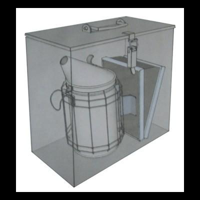 Caixa transporte Fumigadores Zinco pequenos e médios