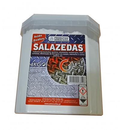 Novo produto adicionado - Ácido Oxálico Balde 4kg