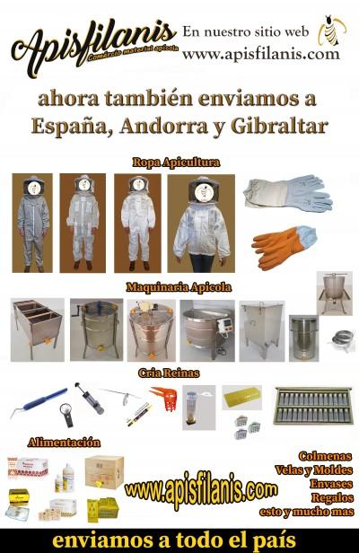 Nuevo: ahora también enviamos a España, Andorra y Gibraltar
