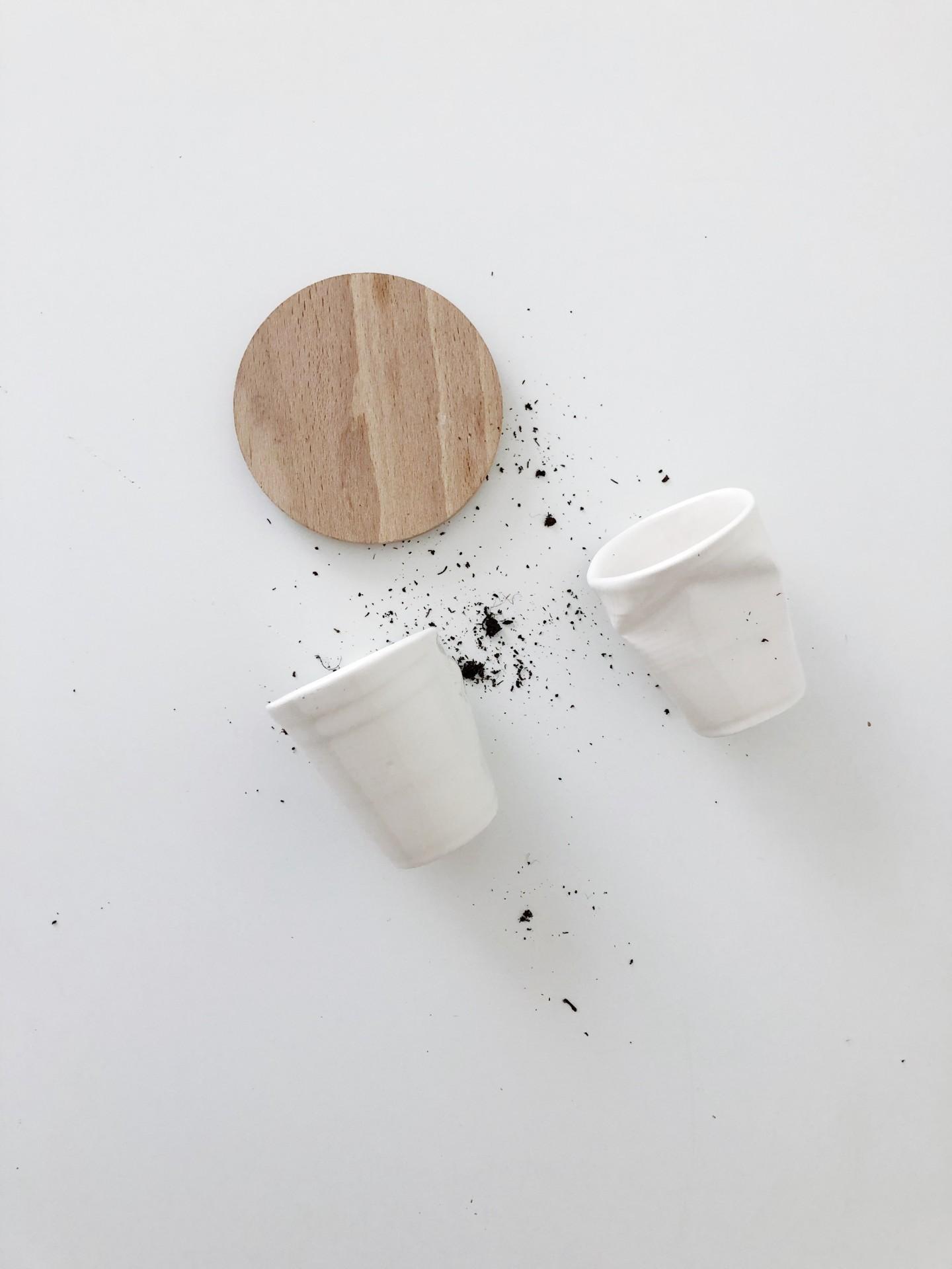 Copo café amolgados