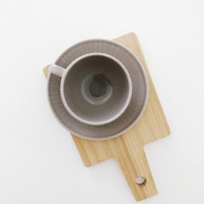 Conjunto de chá Castanho