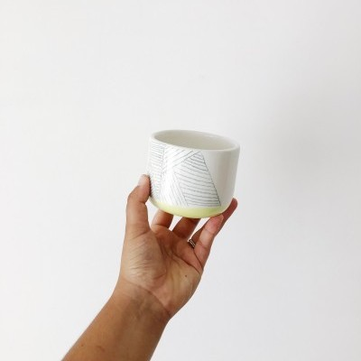 Copo/Taça verde lima