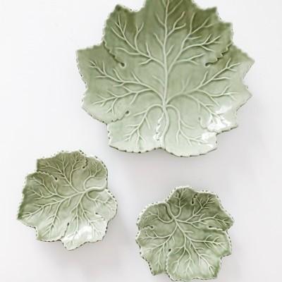 Prato Folha Verde Clara