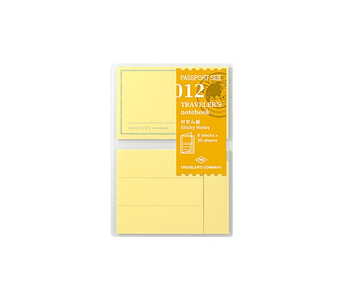 Traveler's Notebook recarga passport size 012