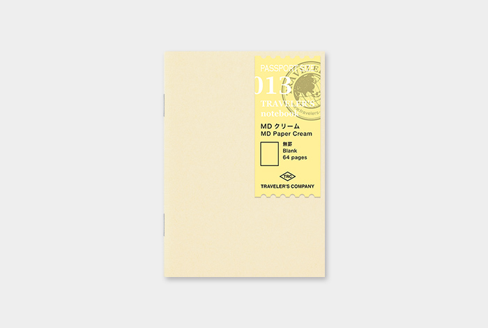 Traveler's Notebook recarga passport size 013