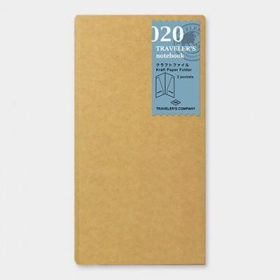 Traveler's Notebook recarga regular size 020