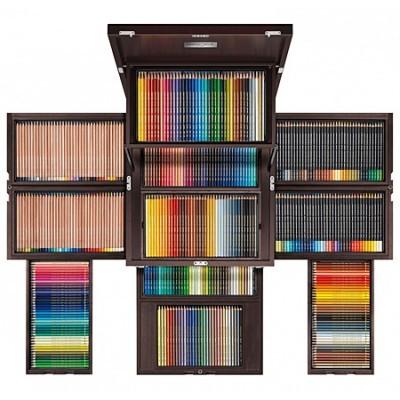 """Caran d'Ache """"Baú do Tesouro"""" - 420 lápis de cor  Edição Limitada"""