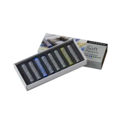Daler-Rowney Soft Pastel - cool selection
