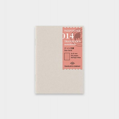 Traveler's Notebook recarga passport size 014