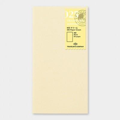Traveler's Notebook recarga regular size 025