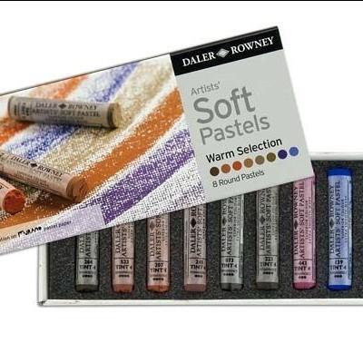 Daler Rowney Soft Pastel -  warm selection