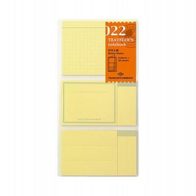 Traveler's Notebook recarga regular size 022