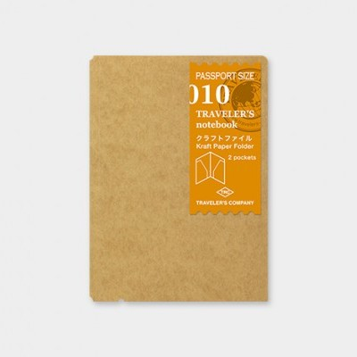Traveler's Notebook recarga passport size 010