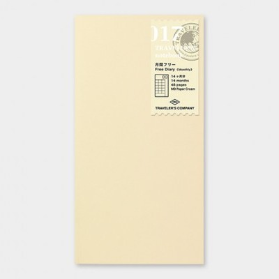 Traveler's Notebook recarga regular size 017