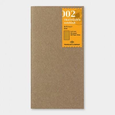 Traveler's Notebook  recarga regular size 002