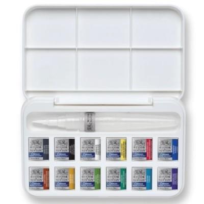 Caixa de aguarela 12 cores, Cotman Windsor & Newton