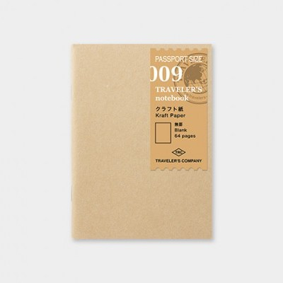 Traveler's Notebook recarga passport size 009