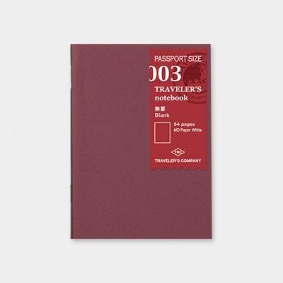 Traveler's Notebook recarga passport size 003