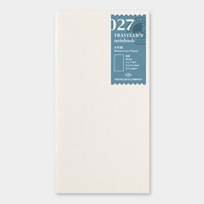 Traveler's Notebook recarga regular size 027