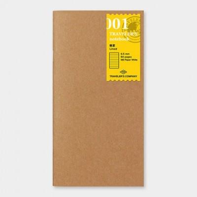 Traveler's Notebook recarga regular size 001