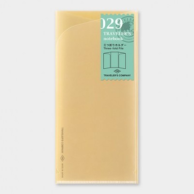 Traveler's Notebook recarga regular size 029