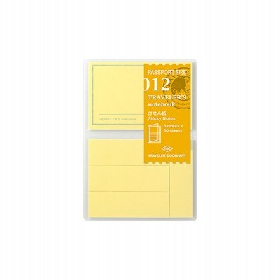 Traveler's Notebook recarga passport size 012