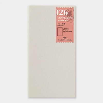 Traveler's Notebook recarga regular size 026