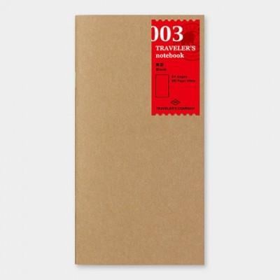 Traveler's Notebook  recarga regular size 003