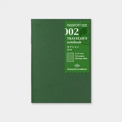Traveler's Notebook recarga passport size 002