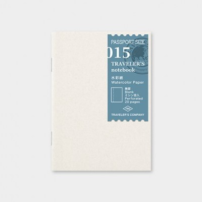 Traveler's Notebook recarga passport size 015