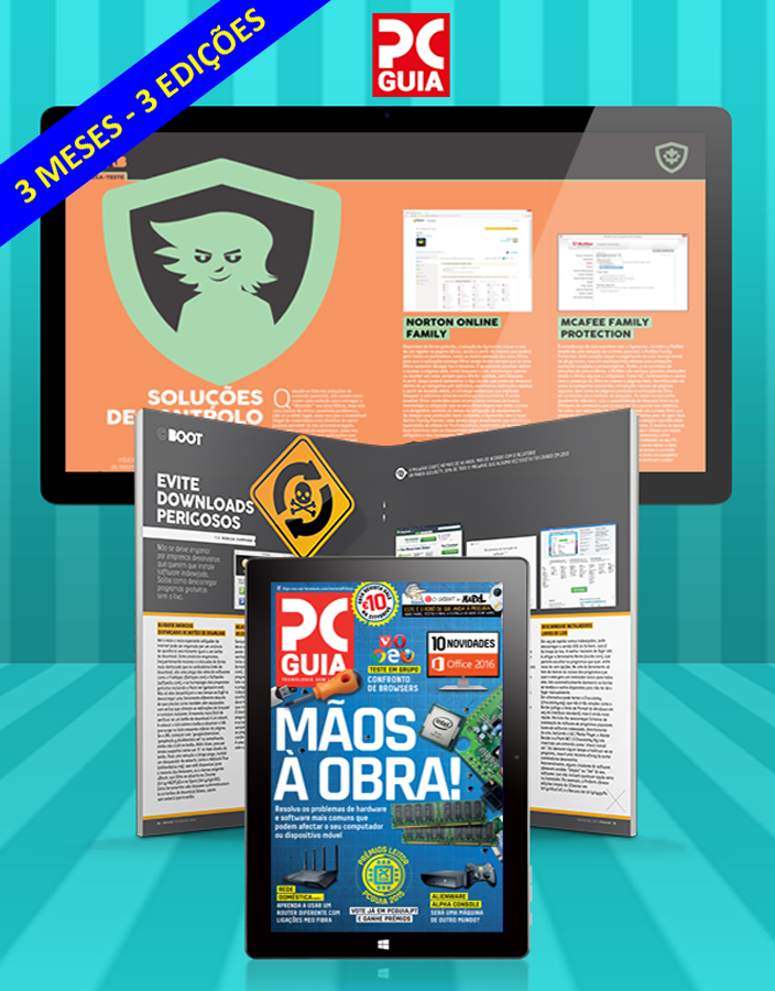 Assinatura Digital da Revista PCGuia (3 Meses)