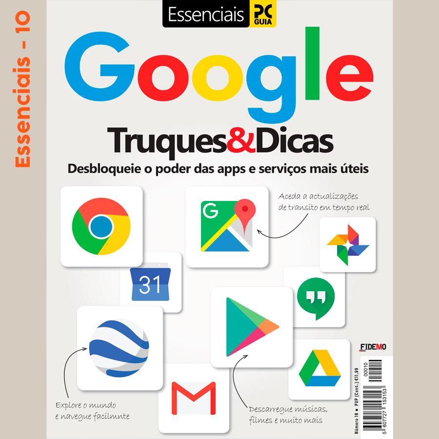 Essenciais PCGuia 10 - Google, Truques & Dicas